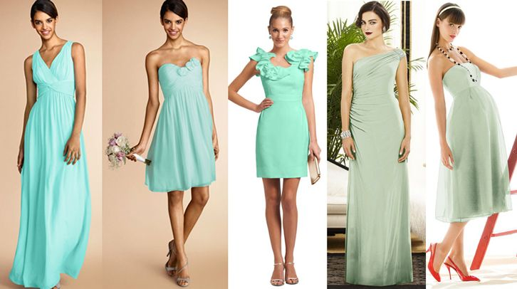25+ Cute Green Bridesmaids Ideas On Pinterest
