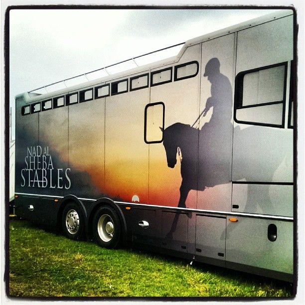 #NASStables#Truck#Art#Graphics#Design#Horse#Transport#Endurance#Race#2013EuropeanChampsTrials - @matteopeo81- #webstagram