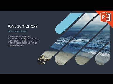How to Design a Good Slide PowerPoint Tutorial | PowerPoint Slide Design - YouTube