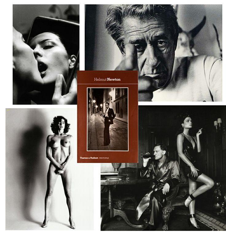 Helmut Newton #history #fashion #photographer #book
