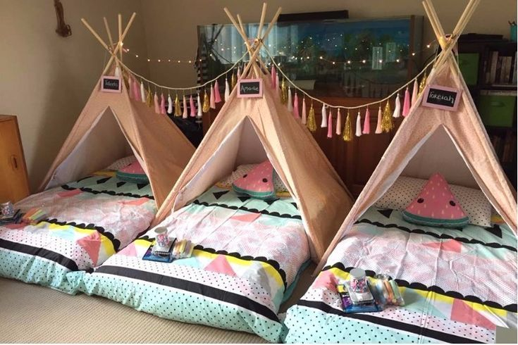 Slumber Party Ideas That Kids Will Love Sleepover Ideas For 10 Year Olds Girls Birthday Party Ideas Sleepover Birthday Sleepover Ideas Girls Sleepover Party