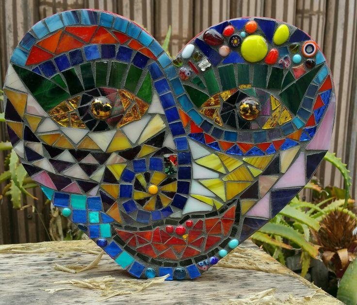 Mosaic Mask by Linda