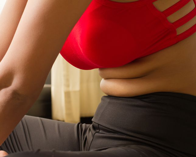 How to Rid Yourself of Belly Pooch Forever Stomach fat, be gone!  PUBLISHED: DECEMBER 17, 2014  |  BY POPSUGAR FITNESS