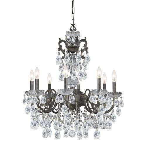Found It At Joss Main Traditional Classic 8 Light Crystal Candle Chandelier