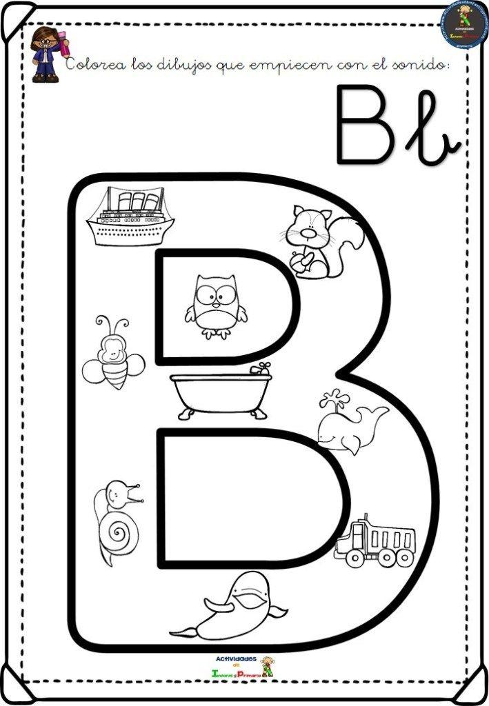 Completo Alfabeto Para Colorear Aprender El Abecedario Alfabeto