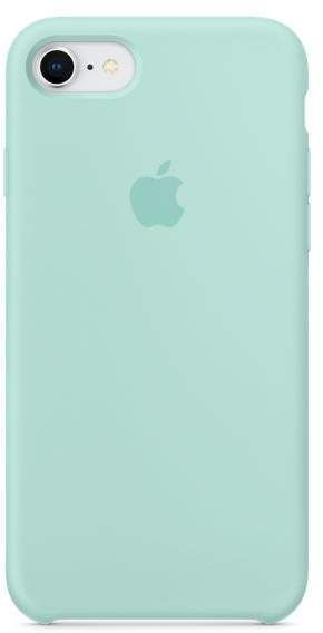 Apple iPhone 8 / 7 Silicone Case – Marine Green