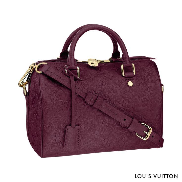 The Louis Vuitton Speedy Bandoulière Empreinte: an Icon of the House reworked for ultimate sophistication.