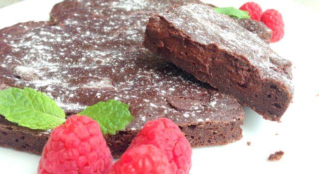 Glutenfri brownie uten sukker