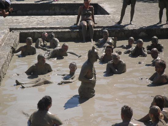 Turkish mud bath