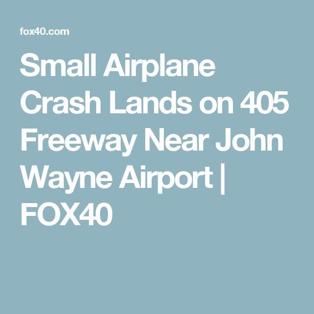 Small Airplane Crash Lands on 405 Freeway Near John Wayne Airport | FOX40