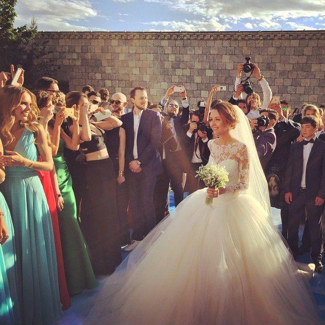 Nataly zakharova murad osmann wedding hairstyles