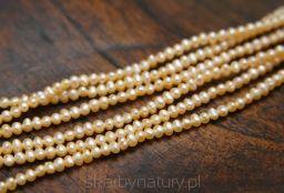 Perła Pomarańczowa -1,8-2 mm [1 sznur = 210 pereł] - Skarby Natury - rozwiń swoją pasję