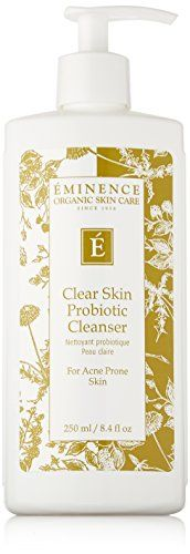 Eminence Organic Skincare Clear Skin Probiotic Cleanser for Acne Prone Skins, 8.4 Fluid Ounce * You can get additional details at the image link.