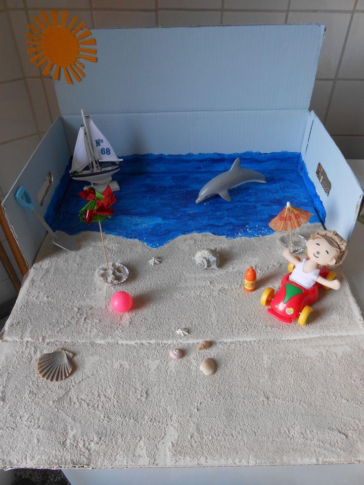 Rode draad: Boer Boris gaat naar zee (elke dag een nieuw element toevoegen/aandacht op vestigen)