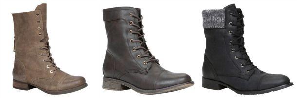 Chaussures Automne/Hiver 2014-2015 #modemtl #shoes #trend #FW1415 #bottillons #militaire #aldo #callitspring #hibou #littleburgundy