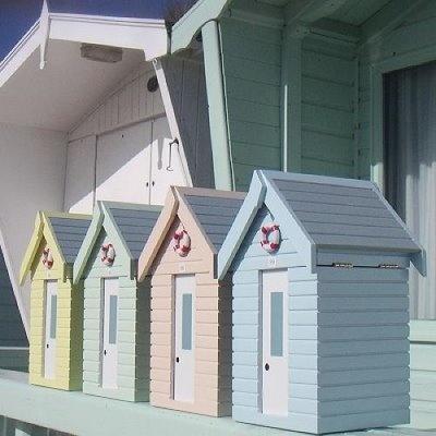 beach huts. Got these!