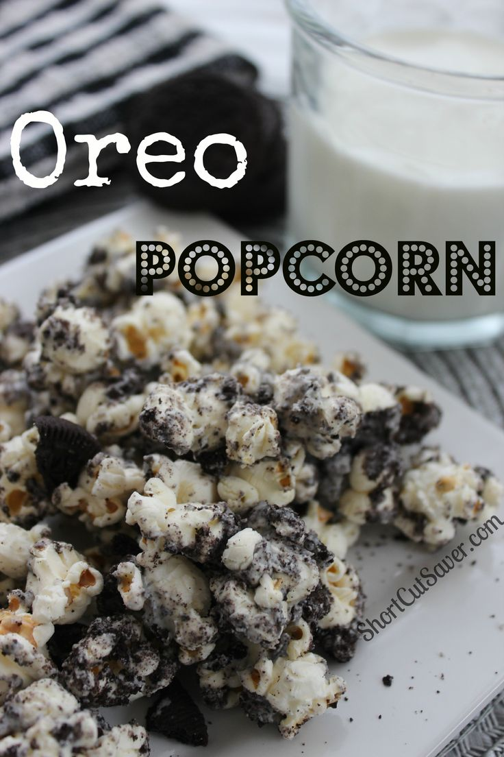 Add some flavor to your popcorn with this recipe for Oreo Popcorn. It is delicious and addicting.