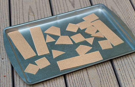 This magnetic sandpaper activity can be used build Jerusalem or the Kotel!  Students love the sensory input of sandpaper.