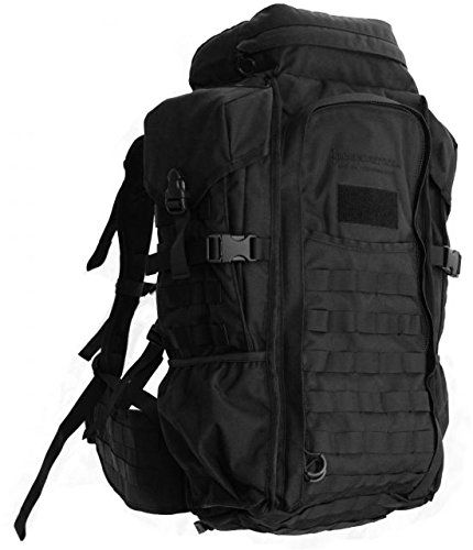 Eberlestock HalfTrack Military Pack wTunnel Pockets  DRings Black *** Details can be found by clicking on the image.Note:It is affiliate link to Amazon.