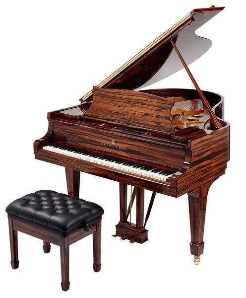 Steinway & Sons O-180 Makassar www.thomann.de #music #gift #present #xmas #christmas #keys #gear #BlackAndWhite #piano