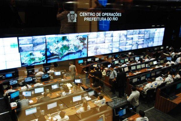 Интеллектуальный центр управления от IBM в Рио-де-Жанейро. Фото: urbanomnibus.net.