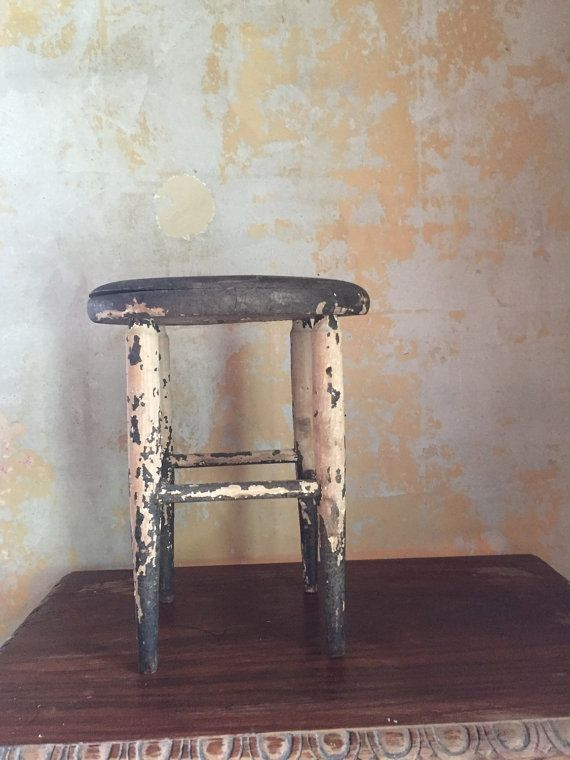 Milking stool antique wood stool - 830 Best Spectacular Vintage Furniture Faves On Etsy Images On