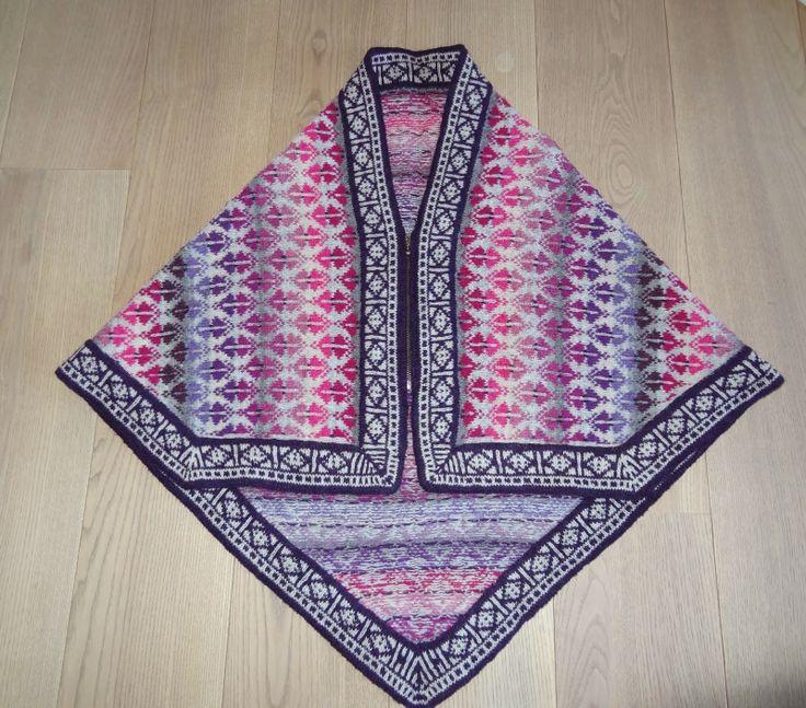 119 best Платки images on Pinterest | Knit crochet, Ponchos and ...