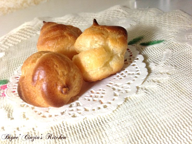 Pate+au+choux ricetta+base+per+bigne' +Cinzia's+Kitchen