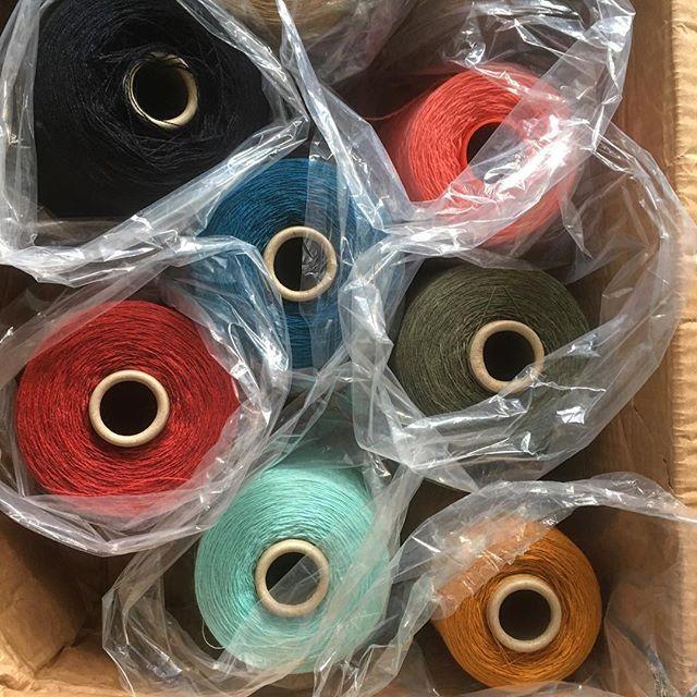 Pure joy! #zegnabaruffa #italy #merino #cashmere #cashwool #colors!