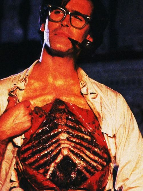 I work out  Bruce Campbell in Waxwork II: Lost in Time