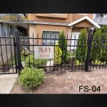 Match your Driveway Gate or Fence with a Pedestrian Gate! Customized to suit your home, our main gates can add security as well as beauty. Browse the gallery on our website for some inspiration, and contact us for your free estimate. http://ironagebc.com/products/residential/fences