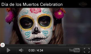 Watch and learn about Day of the Dead celebrations. Then, explore #holidays from other cultures and make Dia de los Muertos crafts. #videoed #k12