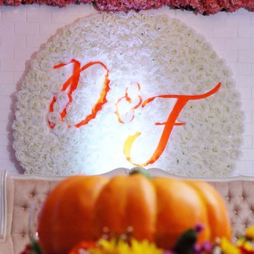 Foto dekorasi & lighting pernikahan oleh Buttercup Decoration