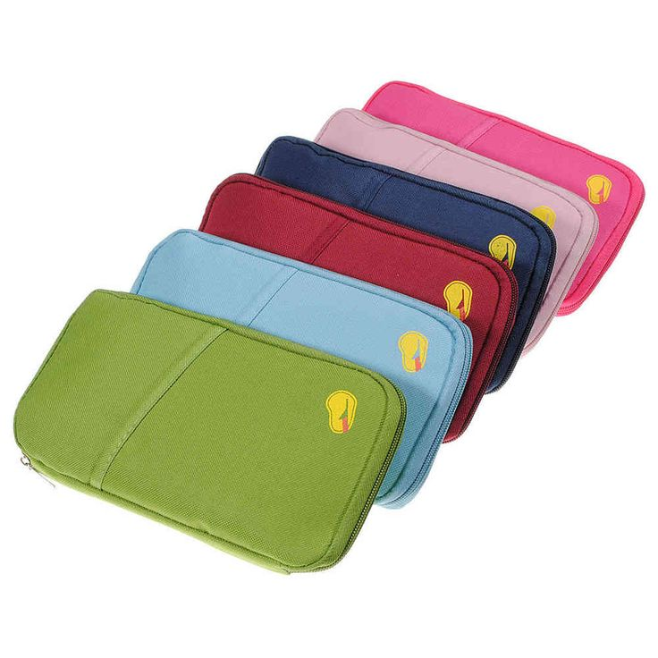 Canvas Travel Wallet Passport Organiser - The Handbag Hut - only £4.50 with free UK delivery.