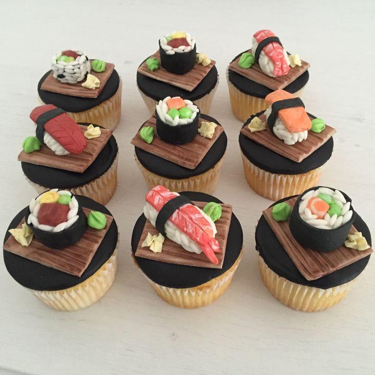 Sushi Cupcakes