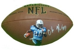 #Chris #Johnson #Autographed Custom #NFL Photo #Football with Proof Photo of Signing! #TennesseeTitans #Tennessee #Titans #Nashville #EastCarolinaPirates #EastCarolina #Pirates #ECU #NCAA #NCAAFootball #NFL #Signed #Free #Shipping Just $169.99  Click Here: http://www.southwestconnection-memorabilia.com/Chris-Johnson-Autographed-Signed-Custom-NFL/M/B007VH3OKS.htm