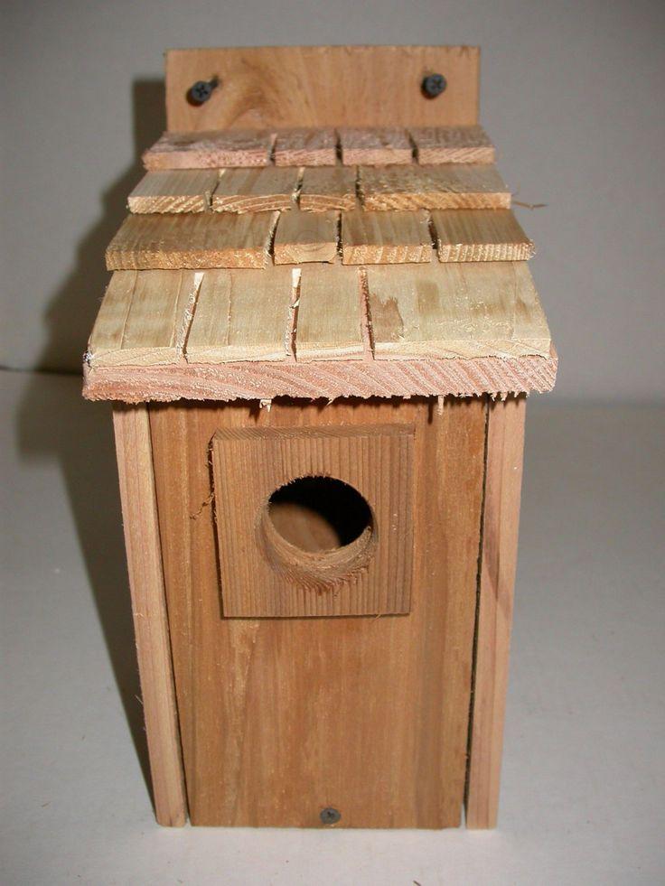 Best 2 Bluebird Bird Houses Bird Nest With Cedar Shake Roof By 640 x 480