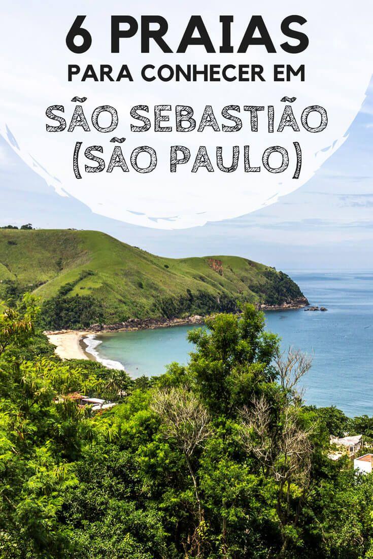 6 praias para conhecer em São Sebastião, no litoral norte de São Paulo. Descubra quais foram as minhas favoritas, e os motivos pelos quais elas me conquistaram. #sãosebastião #praias #mar