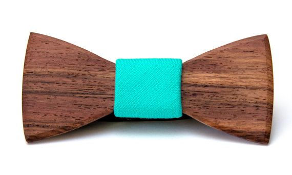 Wooden bow ties by HARPALstore on Etsy, $50.00