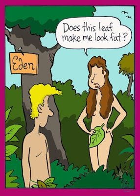 Adam wisely chose to remain silent... Unfortunately it wasn't  the right choice when Eve passed him the forbidden fruit.