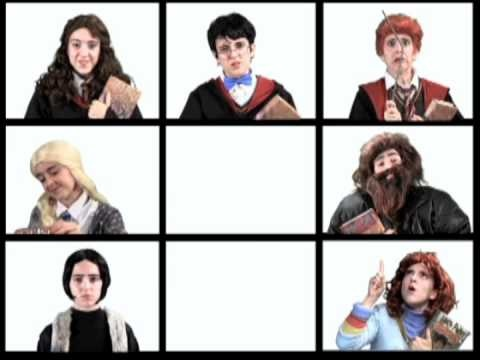 I think that this was the original of the Harry Potter/Book of Mormon 'Hello'...and it is as funny.