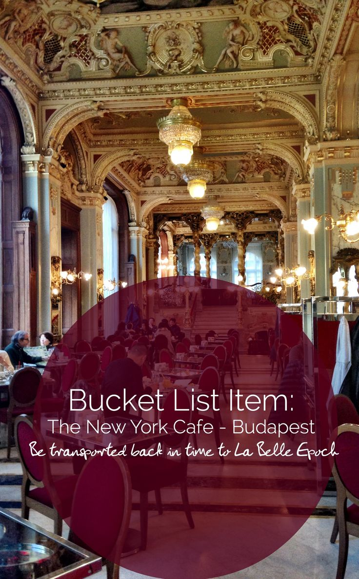 Prettiest place for breakfast, lunch or high tea in #Budapest - The New York Cafe http://passingthru.com/2014/07/grand-breakfast-budapest/