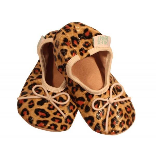 Alex & Ant Animal Print Ballet Shoes