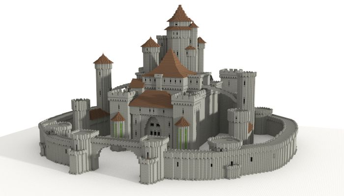 Castle (unfurnished), creation #5599