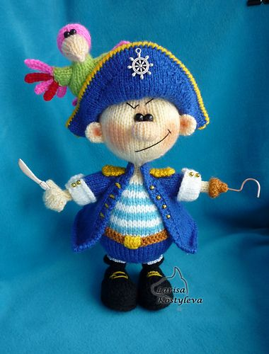Ravelry: Pirate pattern by Amigurumi Fair Toys ~ Knit ...