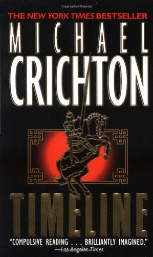 Timeline by Michael Crichton. From about page 39 I was totally hooked.  Wild ride! Crichton takes a concept and researches in completely (bibliographies in the back) and then weaves a story around it.  This book combines Medieval England and Quantum physics.  I try to read one of Crichton's book's each year.  State of Fear was very interesting with a plot that revolved around politicizing science.