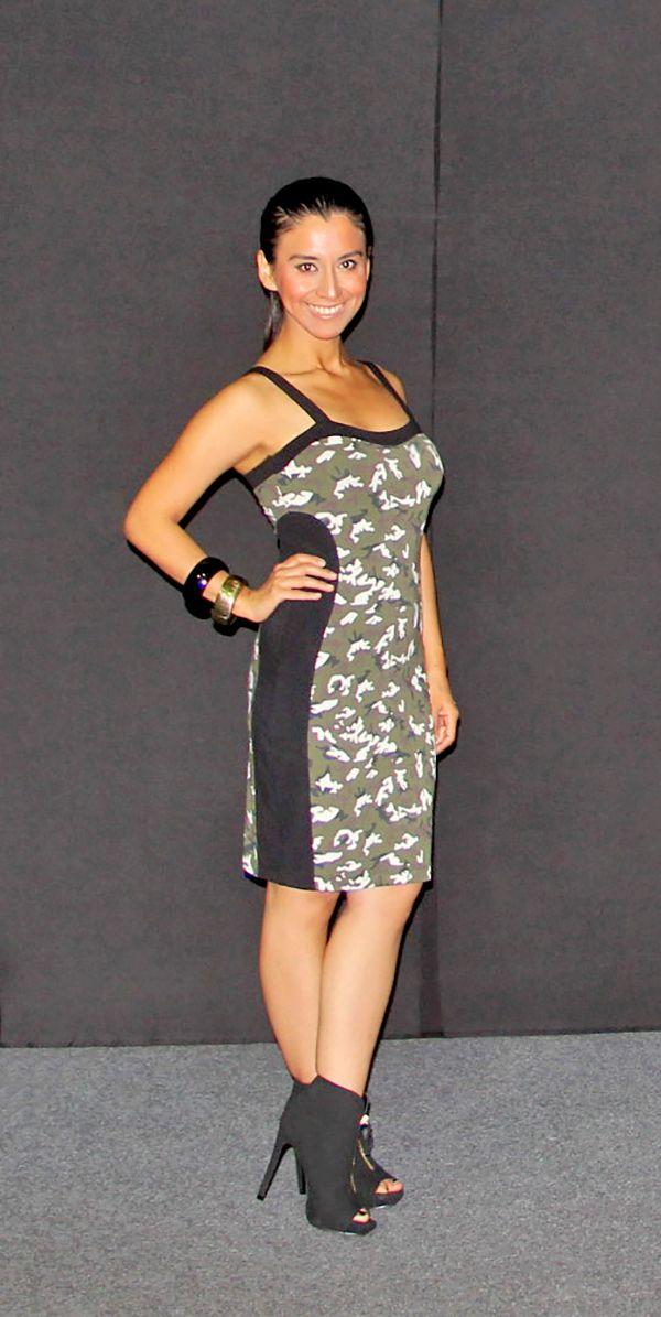 Chica Pop! Vestido camuflado Lifweek 15