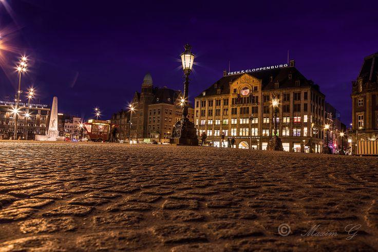 Dam (royal palace)  #dam #square #amsterdam #netherlands #palace #nightphotography #photography