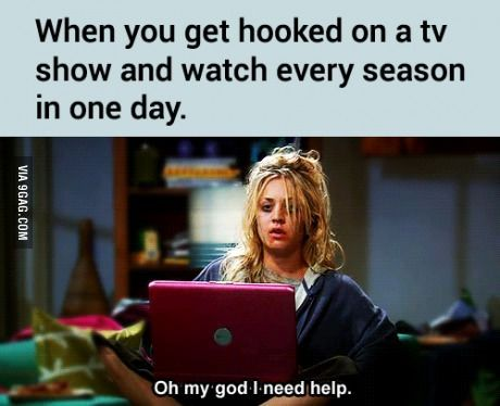 The Walking dead, Supernatural, Teen Wolf, The Nanny, Derek, Orange is the new Black, Modern Family, Sherlock, Buffy, 24, Homeland... Thanks Netflix! I now have no life.