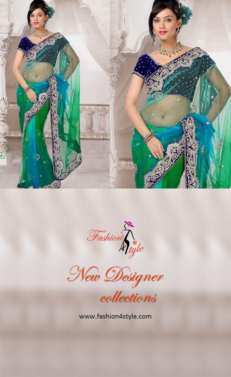 New Designer Saree Collection http://www.fashion4style.com/woman/clothing/designer-sarees/page=1  #Monday #beautiful #fashion